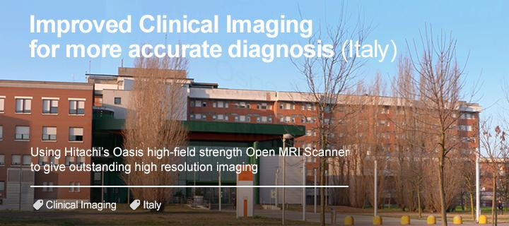 Highest field strength Open MRI Scanner (Italy)